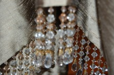 Close up bead trim