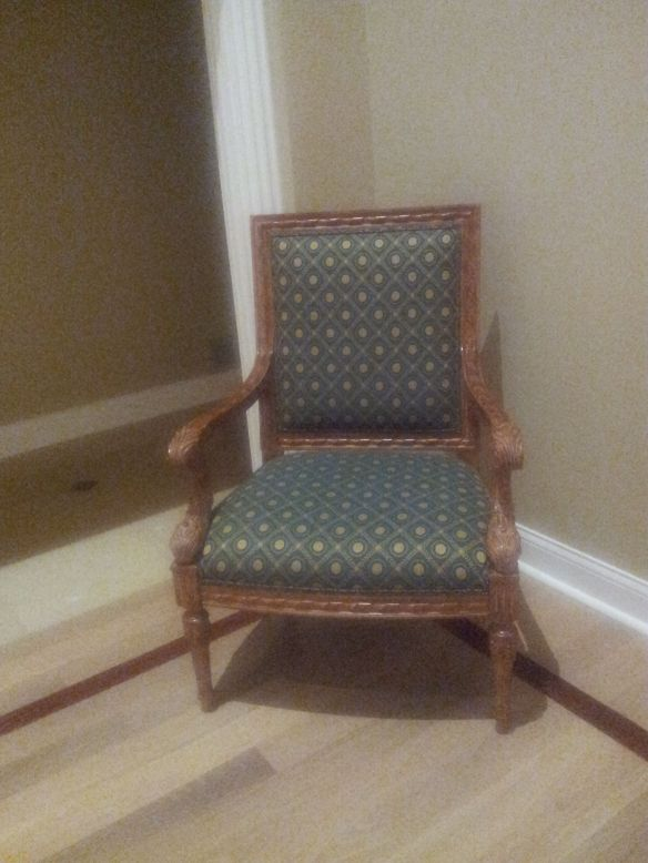 Chair for reupholstery